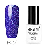 Vernis à Ongles LEEDY Top Coats Rosalind Gel Uv Brillant Pour Ongles Soak Off Gel De Fond Pour Couche De Extension Ongles