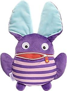 Schmidt Spiele Mary Monstruo Felpa Azul, Púrpura - Juguetes de Peluche (Monstruo, Azul, Púrpura, Felpa, 120 g, 1 Pieza(s))