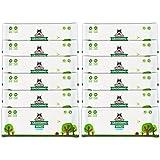 Lingettes nettoyantes Pack de Voyage Pogi's - 240 Lingettes désodorisantes pour Chien - Hypoallergénique, biodégradables, Non parfumées, Naturelles