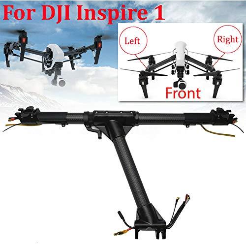LZDseller01 Vorderer Arm Fahrwerk Bein Reparaturteile, Reparatur Vorderer Hauptrahmen Arm Montage Links/Rechts Stützdrohne Für DJI Inspire 1 (Vorne Links + Vorne Rechts)