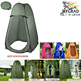 G4RCE® Portable Instant POP Up Tent Camping Toilet Shower Changing Single Room Privacy Travel Tent With Bag (Blue)