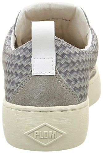 Palladium - Ganama Print, Sneaker Donna Grigio (Gris (D59 Light Grey/Braided))