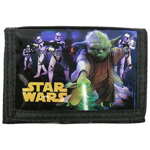 Preisvergleich Produktbild Maxi & Mini–Star Wars Darth Vader und Yoda, Geldbörse / Portemonnaie