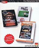 Star Trek - The Next Generation / PGA European Tour / Rally Racing 97 [Fun Compilation Vol. 1] [PC CD-ROM]