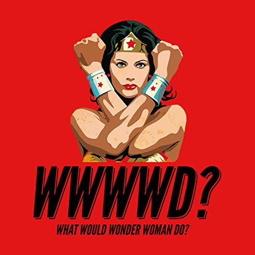 What Would Wonder Woman Do Men's Vest Red