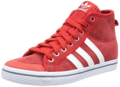 adidas Originals  HONEY STRIPES M,  Sneaker a collo alto donna rosso (Rouge - Rot (LGTSCA/RUNWH))
