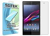 SDTEK Sony Xperia Z5 Verre Trempé Protecteur d'écran Protection Résistant aux éraflures Glass Screen Protector Vitre Tempered