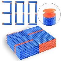 Foxom 300Pcs Suction Darts Refill Foam Bullet for Nerf N-strike Elite