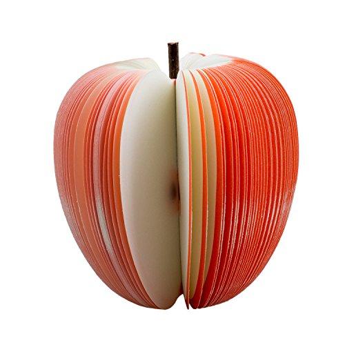 Sonline Haftnotizen Notis Notizzettel Zettel Notizbloecke 140 Blatt Rot Apfel Obst