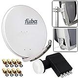 FUBA 4 Teilnehmer Digital SAT Anlage DAA850G