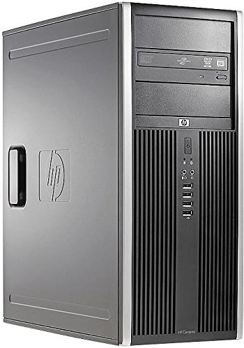 hp Compaq 8100 Elite CMT, Core i7, 8 GB, 128 GB SSD (generalüberholt)