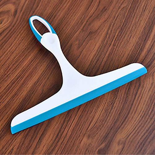 Pratico detergente per vetri Tergicristalli Soft Silicone Blade Home Doccia Bagno Specchio Raschietto Auto tergicristallo