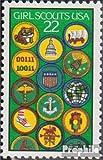 Prophila Collection USA 1871 (kompl.Ausg.) 1987 75 Jahre Pfadfinderinnen (Briefmarken für Sammler) Rotary/Lions/Freim./Pfadfinder