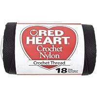Coats: Crochet & Floss Matassa Filato, Nero - Coats & Clark Knit Cro