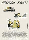 Postkarten Weihnachten A6 • 0627 ''Frohes Fest'' von Inkognito • Künstler: Loriot • Weihnachten