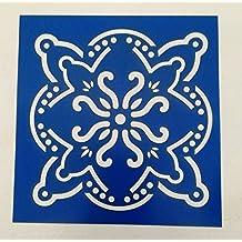 Stencil plantilla de acetato para pintar de 15 cm x 15 cm