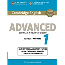 Cambridge English Advanced 1 for Revised Exam from 2015 Student's Book without Answers (CAE Practice Tests)