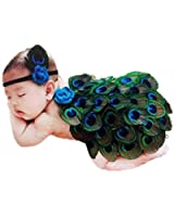 DAYAN Carino foto Prop Costume vestiti lumaca Bambino neonato uncinetto maglia fotografia