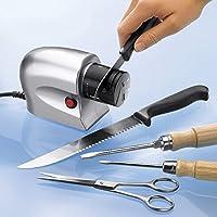 Schleif-Profi, Schleifgerät für Messer Messerschärfer Schleifmaschine Messerschleifer Glatt- und Wellenschliff