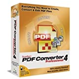 ScanSoft PDF Converter Professional - (version 4.0 ) - support - OEM - CD - Win - français