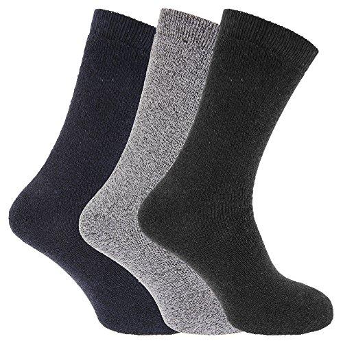 Storm Ridge Mens Cotton Rich Boot Socks (Pack Of 3)