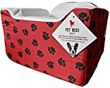Pet Beds Direct Car Seat for Dogs & Pets Travel Basket/Safety Harness Car