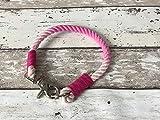 Tau-Halsband Größe 33-35cm Pink