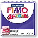 FIMO Lot de 12 kids Pâte à modeler, durcissante au four, violet, 42 g