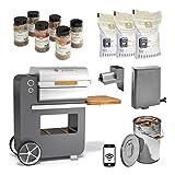 Grillson BobGrillsonPremium-Set5 Bob Premium Smoker-Set | Anthrazit