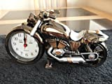 Super Cool Looking Novelty Motorbike Desk Alarm Clock Gift Him Her 2012 Modern