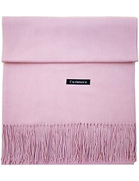 iEverest Cashmere sciarpa Super morbido colore solido cashmere sciarpa per uomini e donne inverno caldo grande...