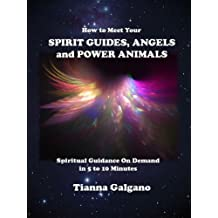 How To Meet Your SPIRIT GUIDES, ANGELS and POWER ANIMALS: Spiritual Guidance On Demand in 5 to 10 Minutes, a Practical Guide (English Edition)