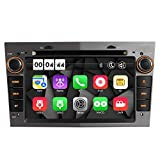 7' AUTORADIO MIT 3G DVD GPS Navigation USB SD Bluetooth Autoradio CD Moniceiver+Bluetooth+ Dual Zone+Subwoofer+DAB+Mirrorlink+VMCD Für OPEL Zafira B Astra H Corsa D Meriva Vivaro Farbe: Grau