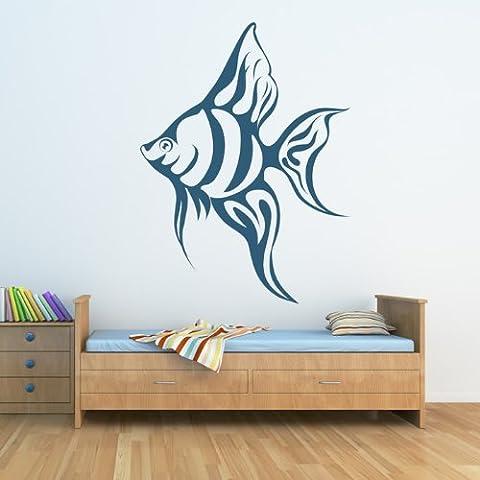 Pesce tropicale Wall Sticker Sea Adesivo Art