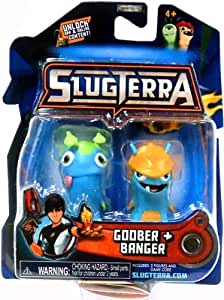 Slugterra Mini Figure 2-Pack Goober & Banger [Includes Code for Exclusive Game Items] by Slugterra TOY (English Manual)