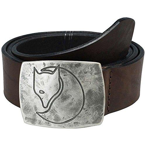 Fjäll Räven Murena Silver Belt Leder Gürtel, Gürtellänge:XL (110 cm)
