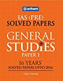 #7: IAS (Pre.) 16 Years' Solved Papers (Upto 2016) - General Studies Paper I