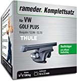Rameder Komplettsatz, Dachträger SquareBar für VW Golf Plus (115961-05379-76)