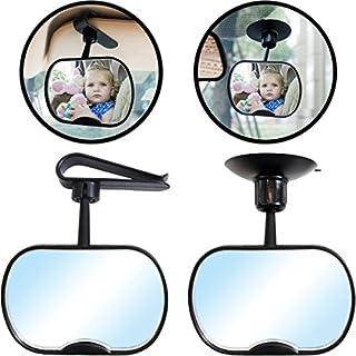 Auto Sicherheitsspiegel/Rücksitzspiegel/Spiegel für Baby & Kind (360° drehbar)