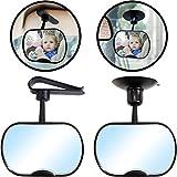 Auto Sicherheitsspiegel / Rücksitzspiegel / Spiegel für Baby & Kind (360° drehbar)