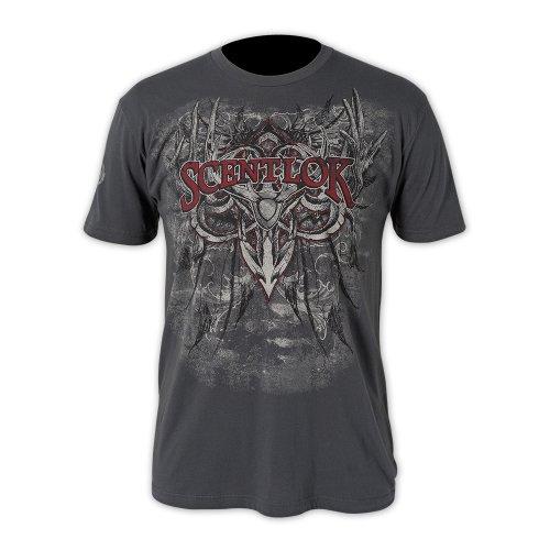 scent-lok Herren Antler T-Shirt von Affliction anthrazit
