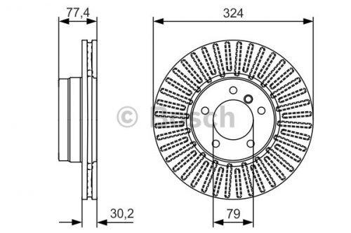 Bosch BD2460 Disque de frein