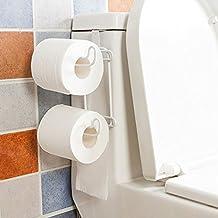 Portarrollos de Papel Higiénico Handy Toallero sin golpe de baño para la cocina ...