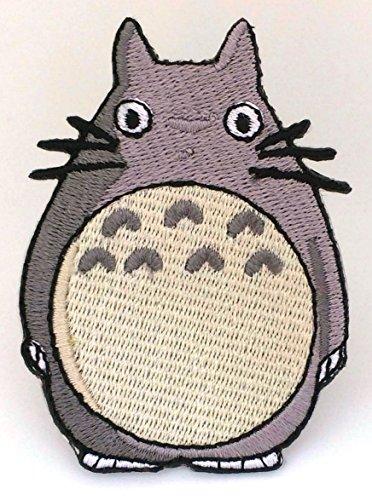 My Neighbor Totoro Patch (8cm) bestickt Eisen/Nähen auf Badge Aufnäher Kostüm Fancy Dress Anime (Fancy Kostüme Pokemon Dress)