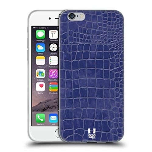Head Case Designs Highcross Stampa A Croce Cover Morbida In Gel Per Apple iPhone 7 / iPhone 8 Blu Scuro