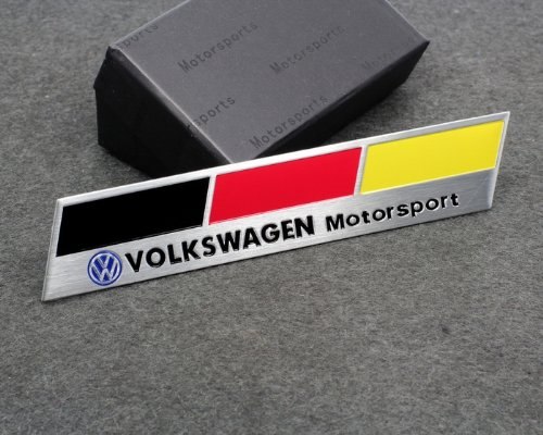 Volkswagen Motorsport Racing Styling Car Sticker Decal Emblem Badge Accessories for POLO VENTO