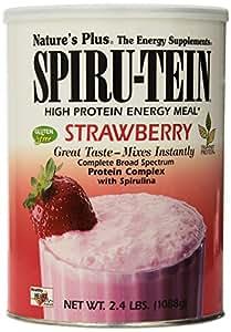 Spiru-Tein, High Protein Energy Meal, Strawberry, 2.4 lbs (1088 g)