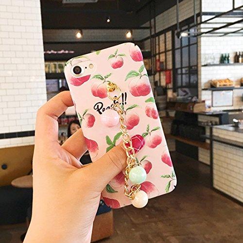 Phone case & Hülle Für iPhone 6 / 6s, Sommer Obst Muster Acryl Schutzhülle mit Kette ( SKU : Ip6g2278c ) Ip6g2278b