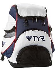 TYR Rucksack Alliance Team Backpack - Bolsa para material de natación, color multicolor, talla 34 x 25 x 47 cm, 38 l