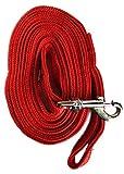 #5: Mera Puppytm Dog Leash 10 Feet Long For Regular To Medium Dogs (Red)